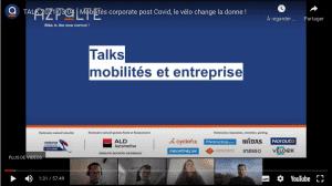 Vélo et mobilités corporate - Publicité en ligne