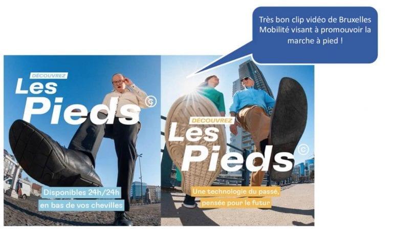Campagne Les Pieds de Bruxelles