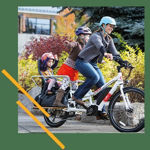 Vélo cargo Yuba Spicy Curry Bosch
