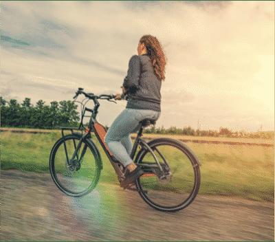 Balade vélo avec Bayck