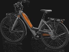 Vélo Bayck vue de dos